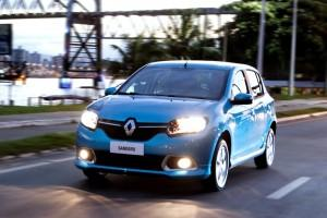 Novo Renault Sandero.