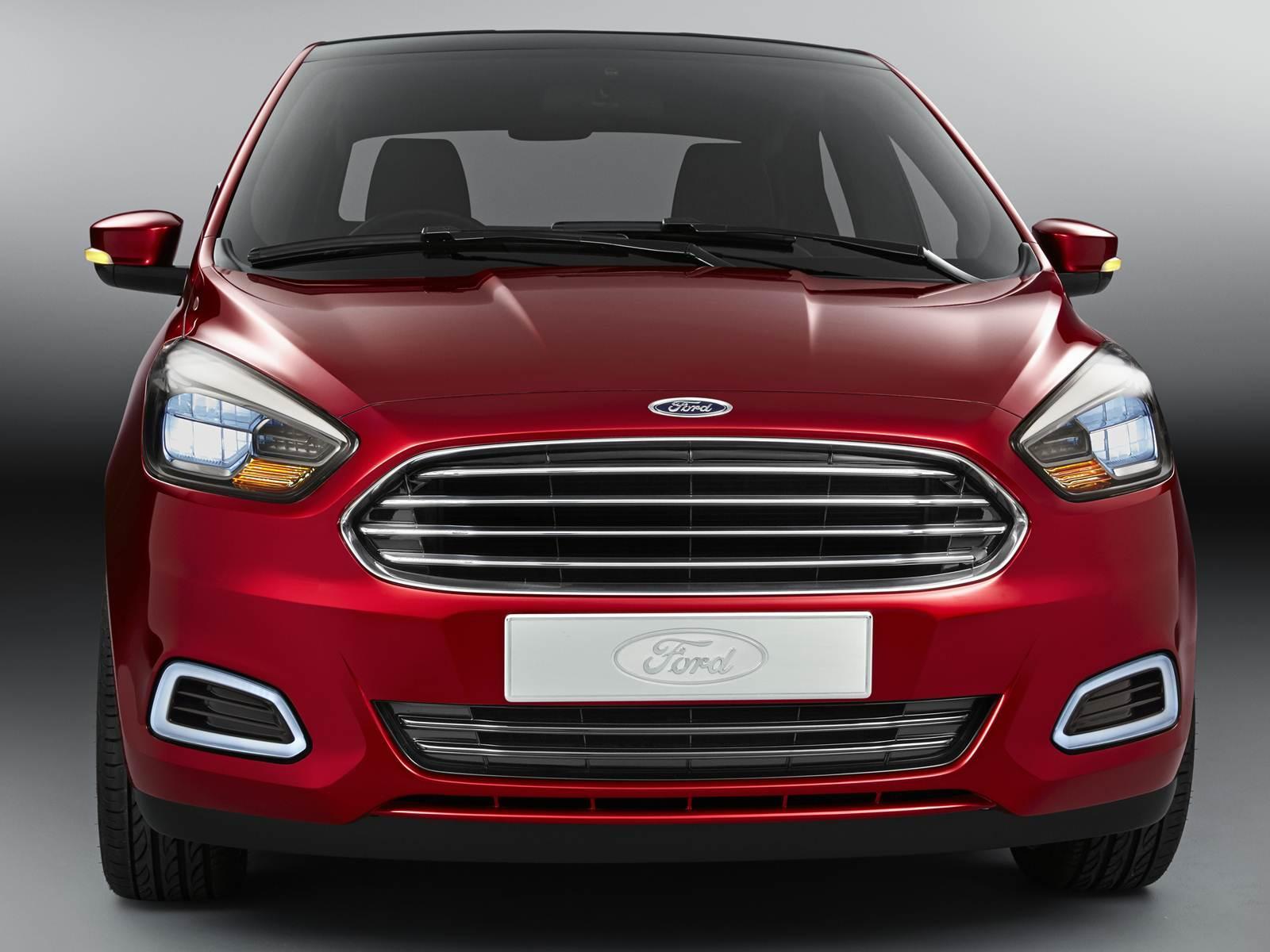 Novo Ford Ka 2015 Tem Vers 227 O Sed 227 Carro Bonito