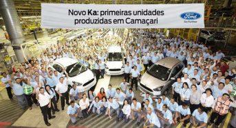 Novo Ford Ka 2015 – Primeira unidade é fabricada na planta de Camaçari (BA)