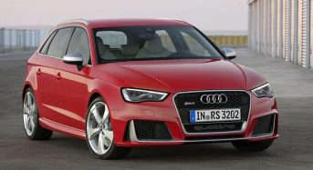 Audi RS3 Sportback chega em 2015 com preço de 40,4 mil euros