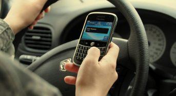 Uso indevido do celular no trânsito está caindo