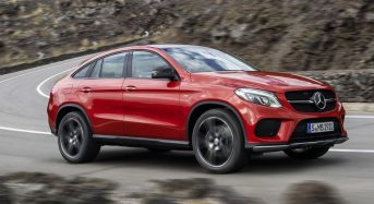 Mercedes-Benz GLE Coupe mistura os estilos coupé e crossover