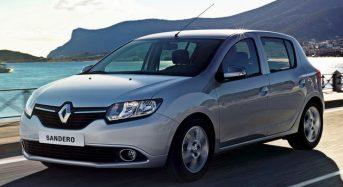 Renault Sandero – Características das novas versões
