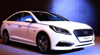 Hyundai Sonata Híbrido 2015 é lançado no Salão do Automóvel de Seul