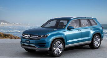 Volkswagen irá apresentar novo crossover no Salão do Automóvel de Detroit