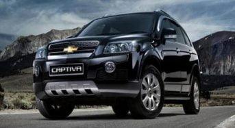 Chevrolet Captiva 2015 chega com poucas mudanças no mercado