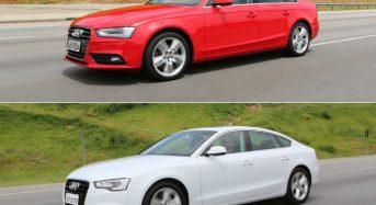 Audi A4 e A5 ganham Motor 1.8 e Novos Preços