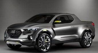 Nova Picape Hyundai Santa Cruz Concept é apresentada no Salão de Detroit