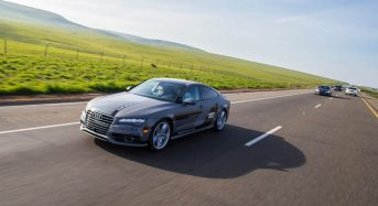 Audi A7 autônomo percorreu 900 km sem motorista