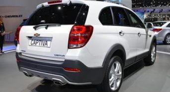 Chevrolet Captiva 2015 – Confira as características do modelo que será vendido no Brasil