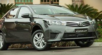 Toyota Corolla é o Carro Mais Vendido no Mundo em 2014