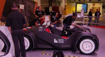 Impressora faz carro 3D no Salão de Detroit 2015