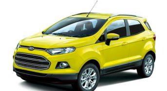 Ford apresenta no Japão o modelo EcoSport Bright Yellow
