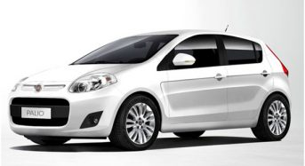 Fiat Palio e Uno ganham novos equipamentos  em 2015