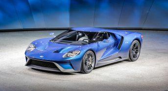 Ford GT faz sucesso na apresentação do Salão de Detroit 2015
