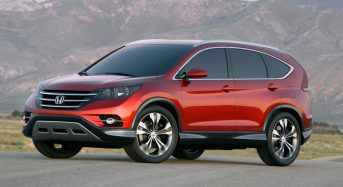 Honda apresenta CR-V que será vendido com sensor de mudança de faixa