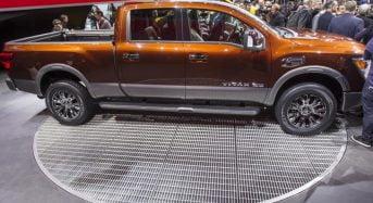 Nissan Titan 2016 é apresentada em Detroit no Salão do Automóvel