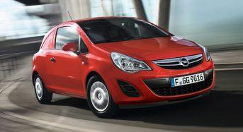 Opel mostra o novo Corsa Van com visual e itens modificados