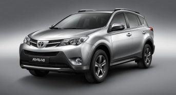 Toyota lança a nova linha do RAV4 2015 no Brasil