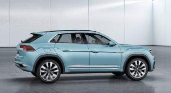 Volkswagen Cross Coupe GTE Concept foi revelado no Salão de Detroit