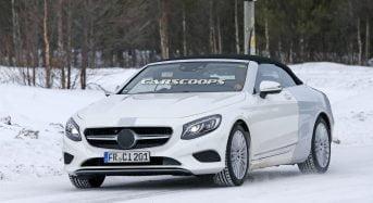 Novo Mercedes Classe S Conversível é Flagrado em Teste