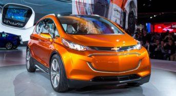 Chevrolet Bolt Elétrico terá produção em série em 2016