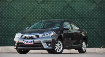 Toyota Corolla Híbrido é revelado na China