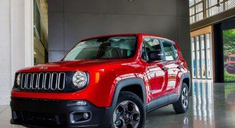 Início da Produção do Jeep Renegade no Brasil