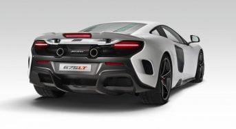 McLaren 675LT tem Primeiras Fotos Divulgadas