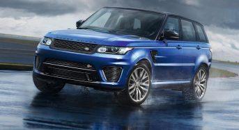 Range Rover Sport SVR será lançado no Brasil