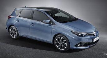Novo Toyota Auris será apresentado no Salão de Genebra 2015