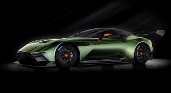 Aston Martin revela o modelo Vulcan