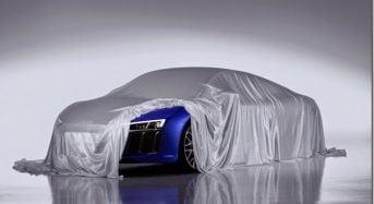Audi R8 é antecipado pela marca