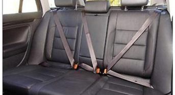Carros deverão ter somente cintos de segurança de 3 pontos a partir de 2020