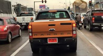 Ford Ranger 2015 é flagrada nas ruas