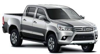 Toyota Hilux e SW4 Ganharão Novo Visual
