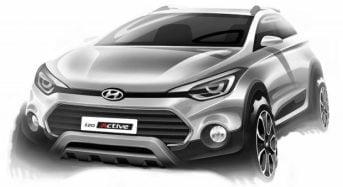 Hyundai i20 Active é antecipado pela montadora
