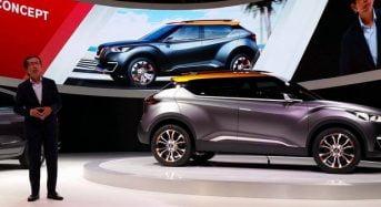 Nissan mostra o conceito SUV que tem base no Kicks