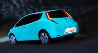 Nissan produz tinta orgânica que brilha no escuro