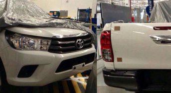 Nova Toyota Hilux – Modelo é revelado em fotos