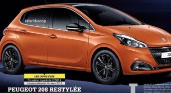 Peugeot 208 – Novo modelo teve primeiras imagens divulgadas