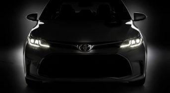 Toyota Avalon – Teaser do modelo que será lançado em Chicago é divulgado