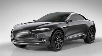Aston Martin DBX é apresentado no Salão de Genebra 2015