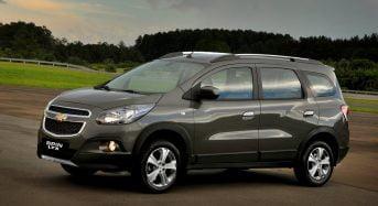 Recall do Chevrolet Spin 2015