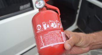 Extintor ABC para Carro – Novo Prazo para Obrigatoriedade