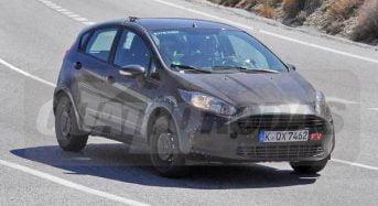 Novo Ford Fiesta RS passa por testes