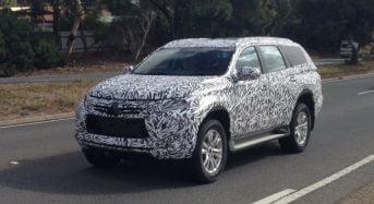 Novo Mitsubishi Pajero Sport 2016 é Flagrado em Testes