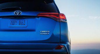 Toyota RAV4 Hybrid – Primeiras Imagens Reveladas