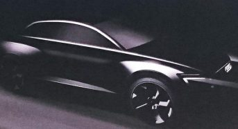 Audi apresenta teaser do novo modelo Q6 elétrico