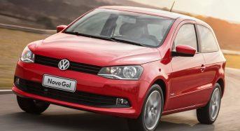 Volkswagen Gol sai da liderança para o oitavo lugar em venda
